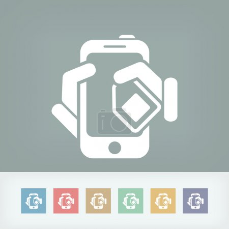 Phone card icon