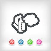 Spray-ikonsprey simgesi