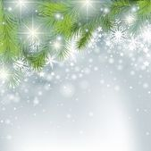 Winter Background - Christmas Illustration Vector