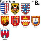 Coat Of Arms Collection - Colored Illustrations Vector