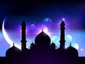 Beautiful vector background of ramadan festival