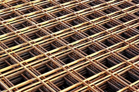 Stacked rebar grids