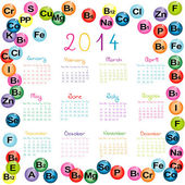 Kalendář 2014 s vitamíny a minerály pro lékárny a hosp