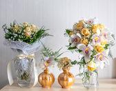 Krásná svatební kytice svatební party