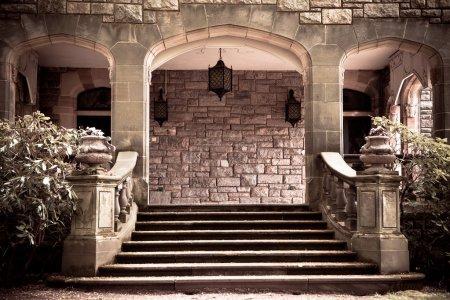 Vintage Stone Portico