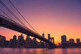 Colorful NYC skyline