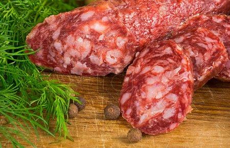 This artisanal sausage
