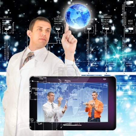 Creation of the newest telecommunication and the Internet of technologies future