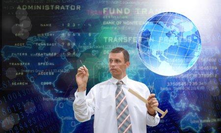 Energy technology background