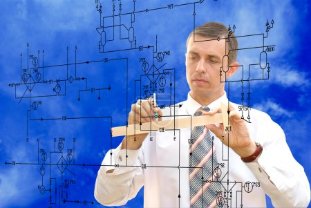 Engineer.Engineering construction designing