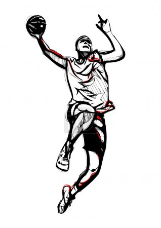 Basketball player 3