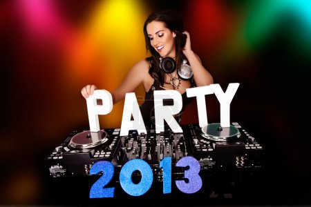 PARTY 2013 with sexy DJ