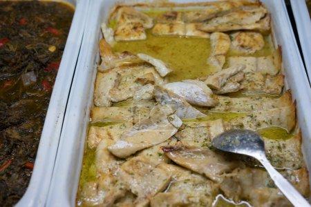 Tasty Food Served on Tray