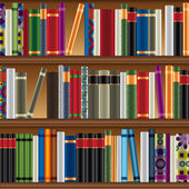 Library vector pattern