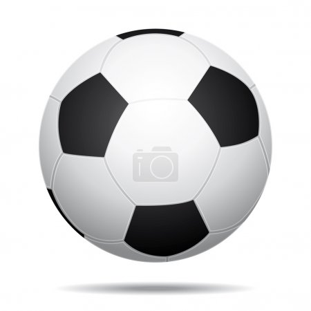 3D Realistic soccer ball icon II.