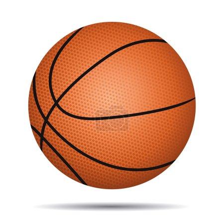 Basket ball icon.