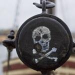 STOCKHOLM, SWEDEN - NOVEMBER 3, 2013: Pirate label...