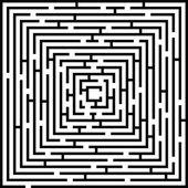 Complex Maze Background Illustration