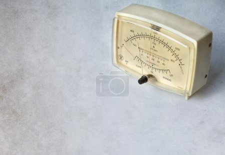 Old combined barometer, hygrometer and thermometer device