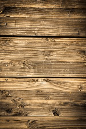 Vintage stained wooden