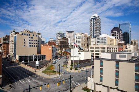 Skyline of Indianapolis Indiana