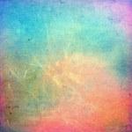 Colorful scratched vintage background