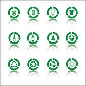 Recyklovat sady ikon