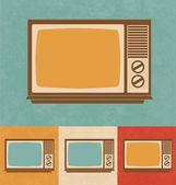 Retro Icons - Small Television Set