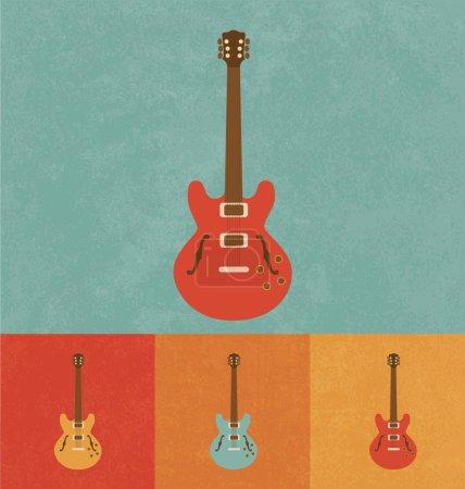 Retro Icons - Guitar Set