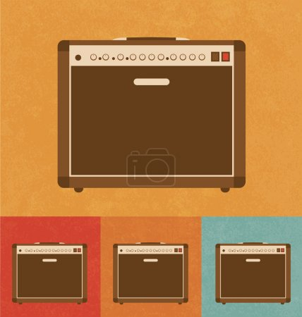 Retro Icons- Amplifier