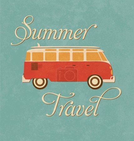 Summer Travel Design - Camper Van