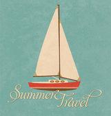 Summer Travel Design - Sail Boat