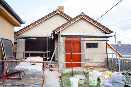 Construction or repair of the rural house