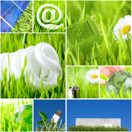 Photo for Environment and green energy concept - Royalty Free Image
