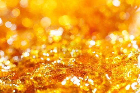 Photo for Caramel gold glitter background - Royalty Free Image