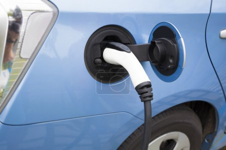 Photo for Charging of an electric car - Royalty Free Image