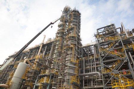 Photo pour Structure et conception des installations pétrochimiques ou chimiques - image libre de droit