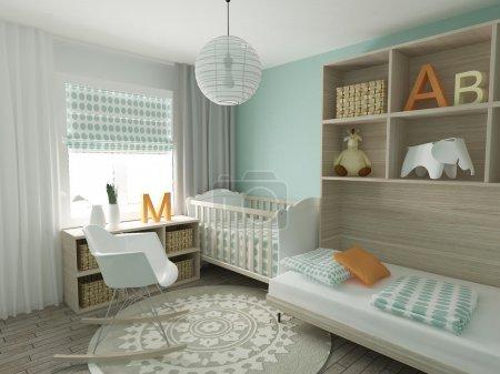 Nursery home interior