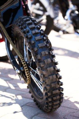 motorcycle wheel tire