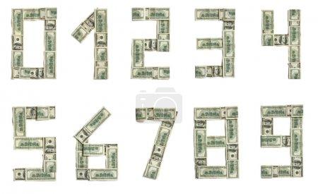 Dollar alphabet