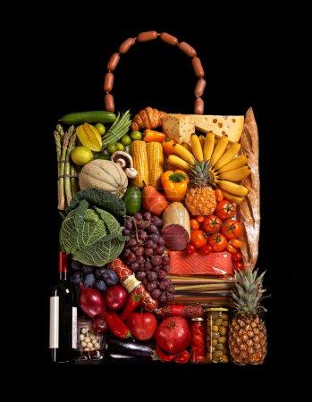 Excellent food handbag