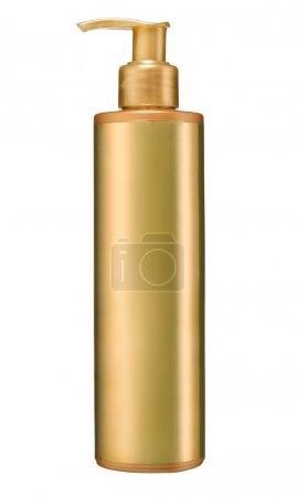 Dispenser pump cosmetic or hygiene, plastic bottle of gel, liquid soap, lotion, cream, shampoo