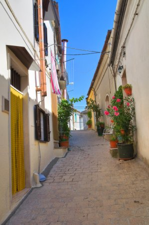 Alleyway. Sant'Agata di Puglia. Puglia. Italy....