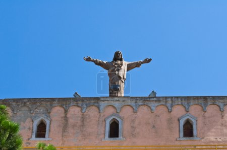 Historical church. Sant'Agata di Puglia. Italy....