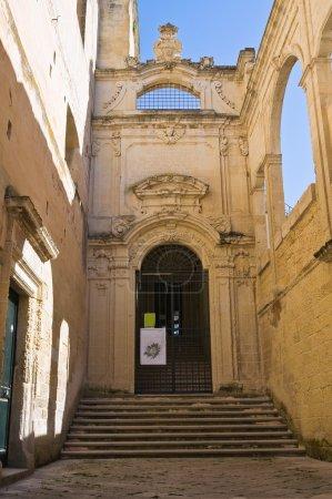 Conservatory of St. Anna. Lecce. Puglia. Italy.
