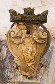 Historický palác. Presicce. Puglia. Itálie