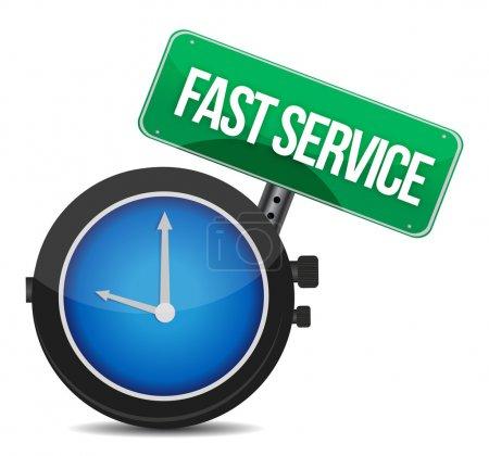 fast service concept