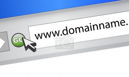 domain name browser search