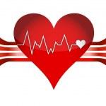 Medical background illustration design over a whit...