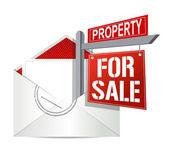 E-mail a nemovitosti na prodej